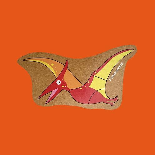 Rompecabezas De Madera Pteranodon