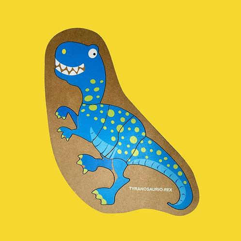 Rompecabezas De Madera Tyranosaurio-Rex