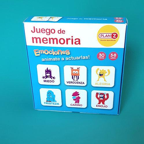Juego de Memoria - Emociones