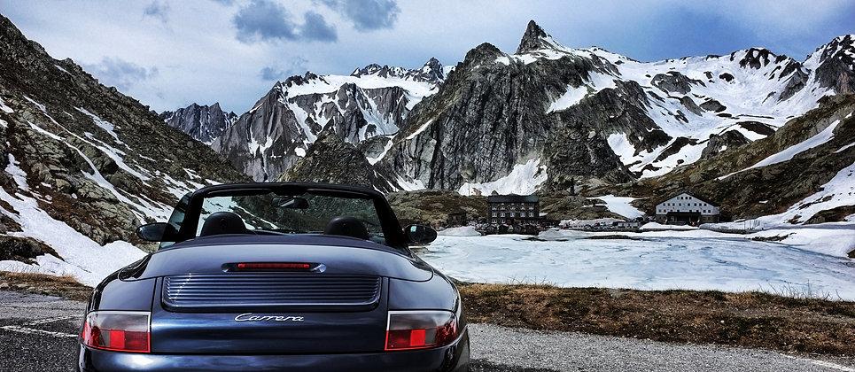 Porsche 911 996 modern classic convertible
