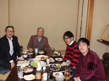 1月11日 ゼミ長との懇談会