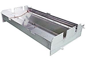 織機の準備機(糊付けタンク)