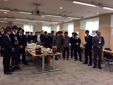 学生・OBとの懇談会(2014年12月)