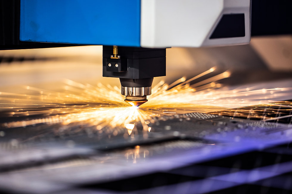 Cnc milling machine. Processing and lase