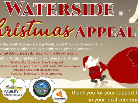 Waterside Christmas Appeal 2020
