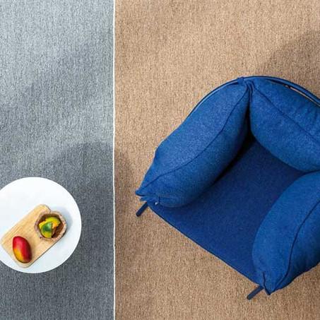 Ponza: un tappeto da esterno che unisce tradizione e filati hi-tech