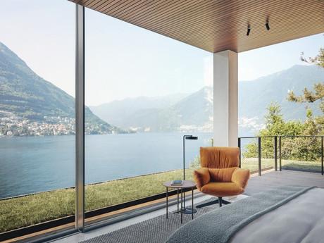 The Signature Penthouse - Hotel Il Sereno at Lake Como. Project with Patricia Urquiola
