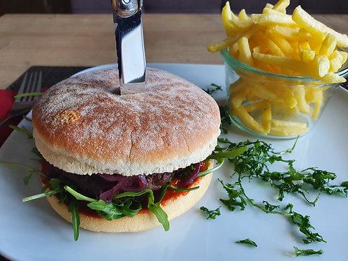 Rinds-Hamburger (Hausgemacht)