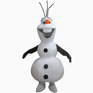 Smiling-Olaf-Mascot-Costume-Cartoon-Char
