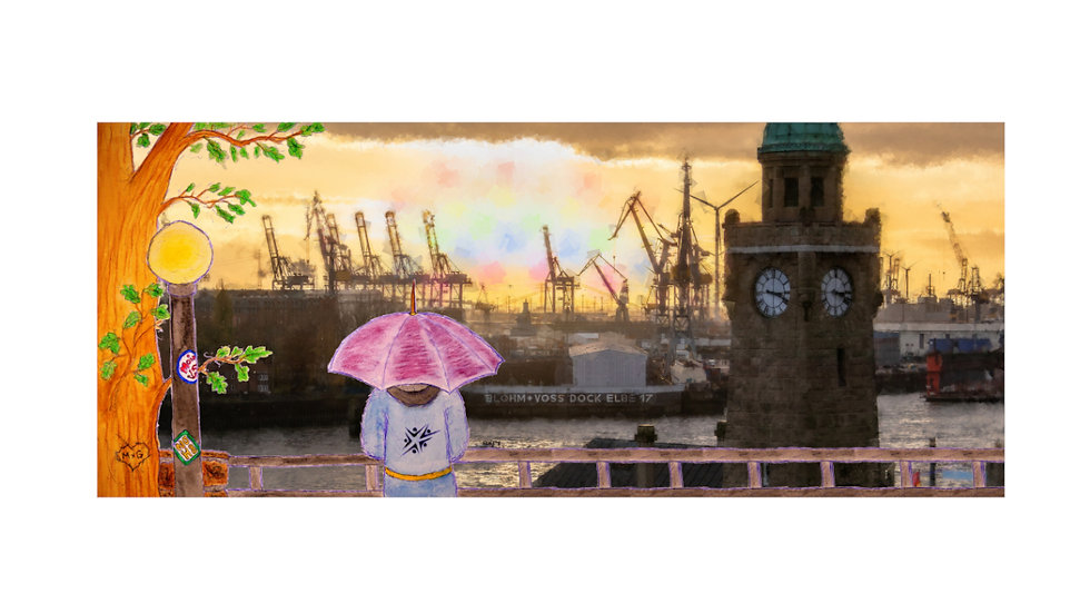 Hafen-Rainbow-Poster
