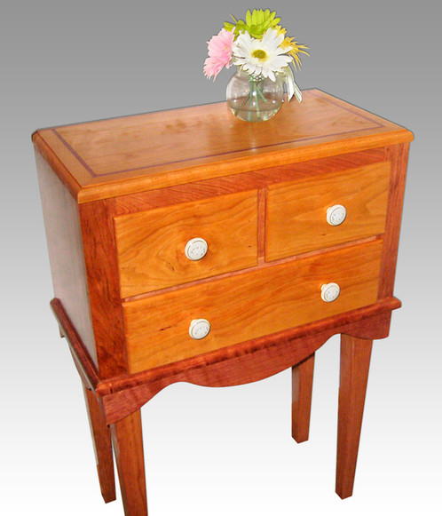 Hallway Table With Drawers | Handcrafted Solid Wood Furniture | L Jones  Woodcraft   Kalamazoo, MI