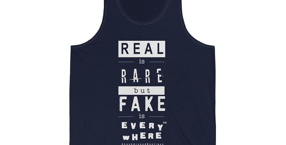 Real & Fake Tank (White)