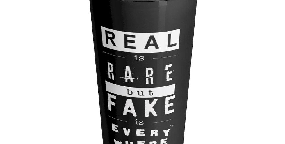 Real & Fake Travel Mug