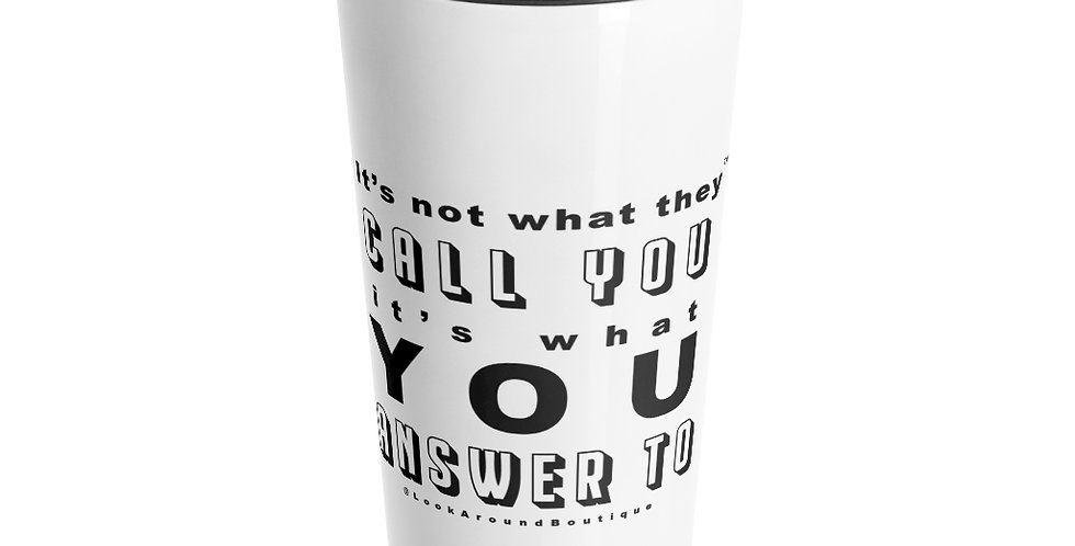 Call & Answer Travel Mug