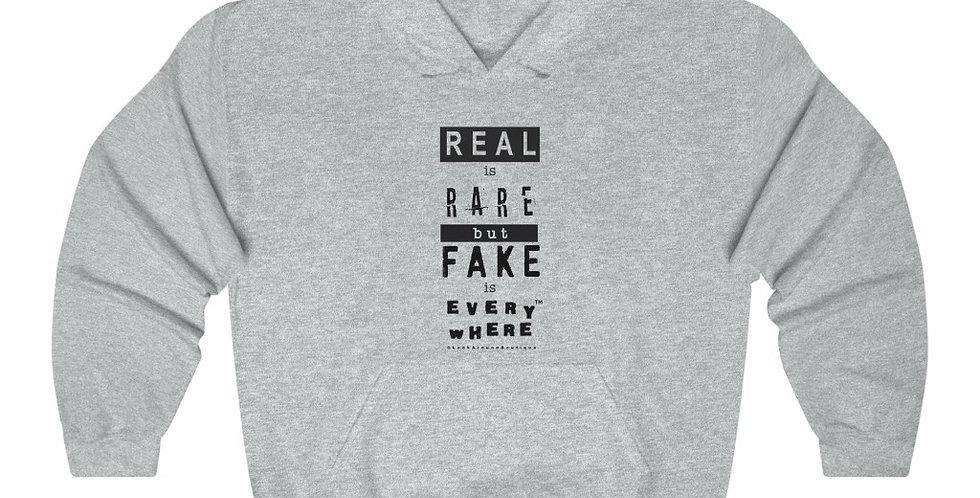 Real & Fake Hoodie (Black)