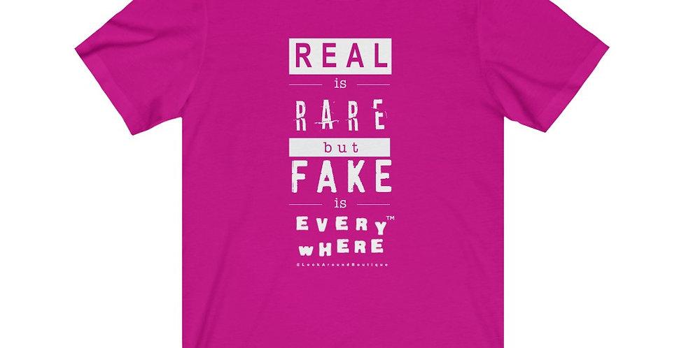 Real & Fake Tee (White)