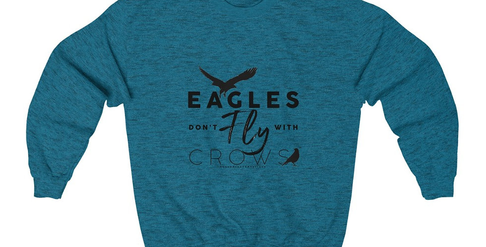 Eagles & Crows Crewneck Sweatshirt (Black)
