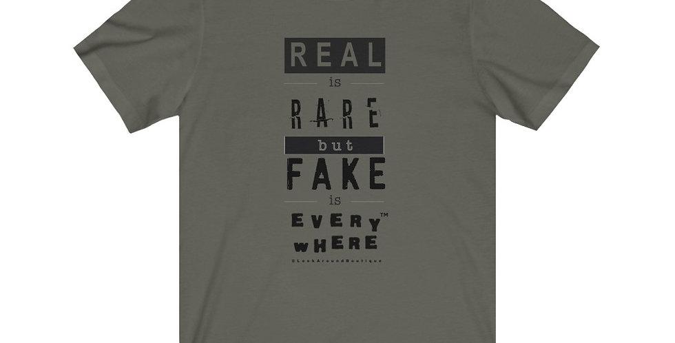 Real & Fake Tee (Black)