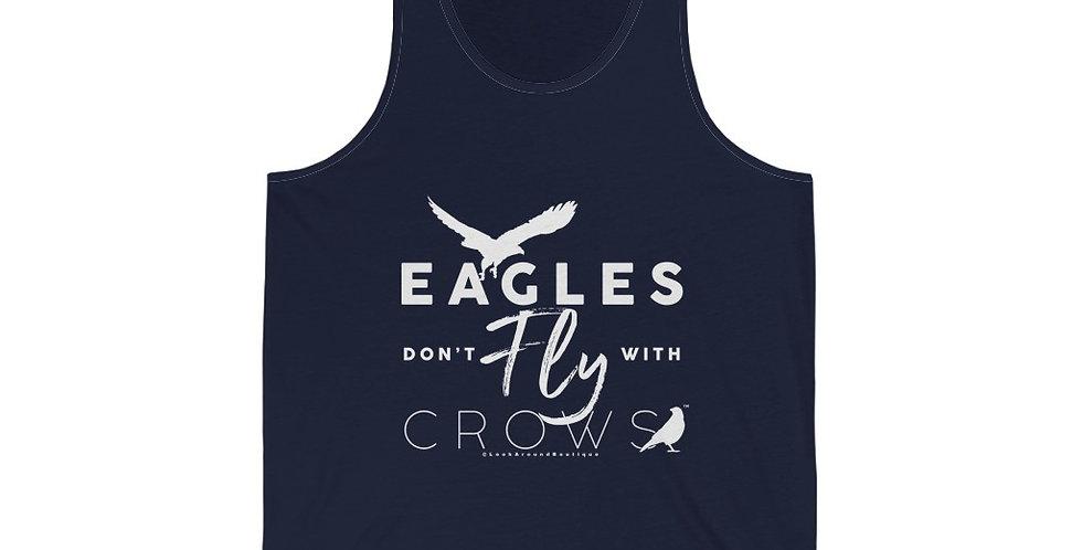 Eagles & Crows Tank (White)