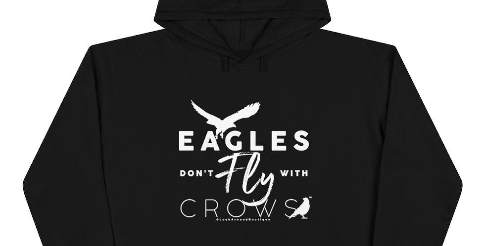 Eagles & Crows Crop Hoodie