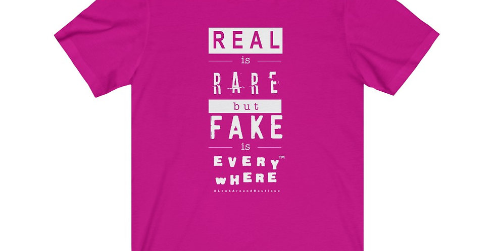 Real & Fake Tee (White)