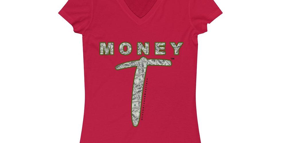 Money V-neck Tee