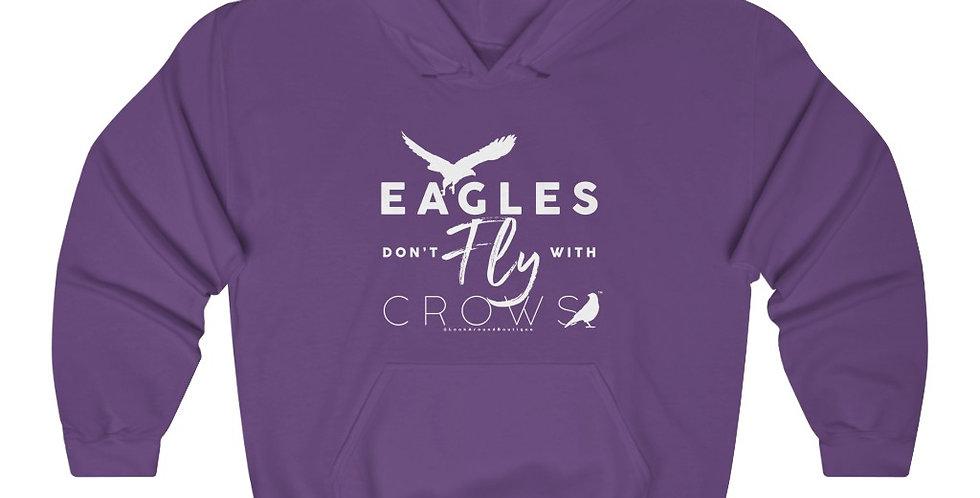Eagles & Crows Hoodie (White)
