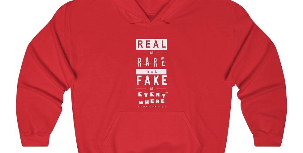 Real & Fake Hoodie (White)