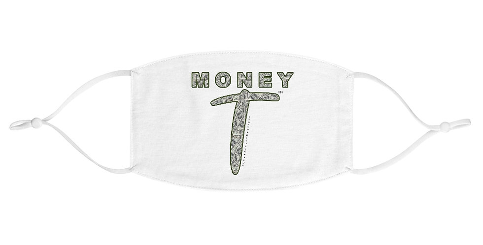Money T Fabric Face Mask