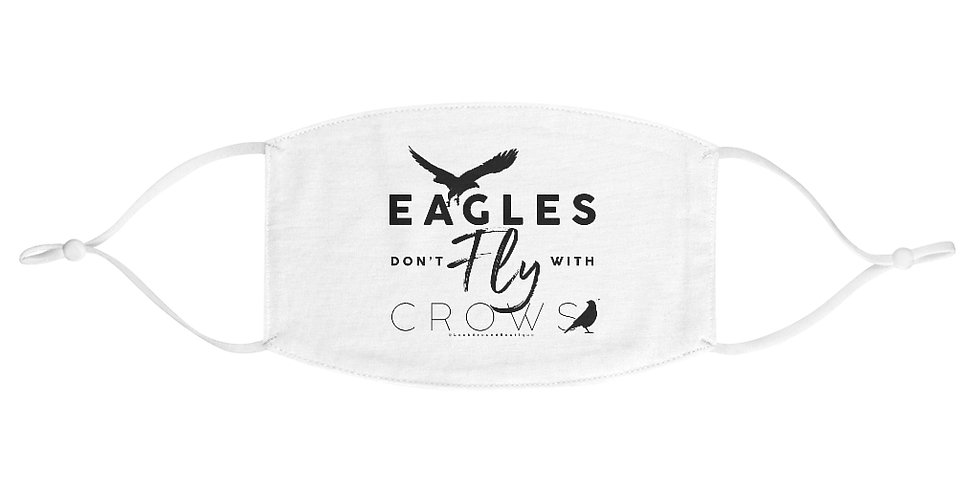 Eagles & Crows Fabric Face Mask