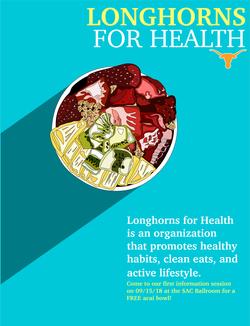 Longhorns for Health Flyer