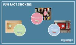 Care/Of Quicksticks: Fun Fact Stickers