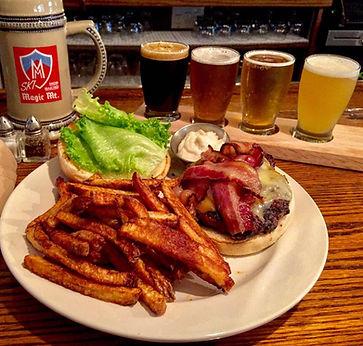 Upper Pass Lodge Burger Night