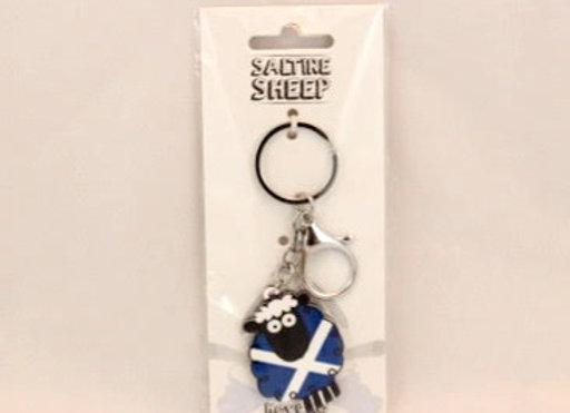 Keychain - Saltire Sheep