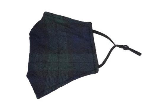 Mask - M - Black Watch tartan