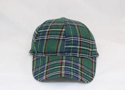 Tartan ball cap