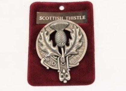 Thistle cap badge