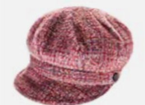 Ladies Newsboy Cap - Blush