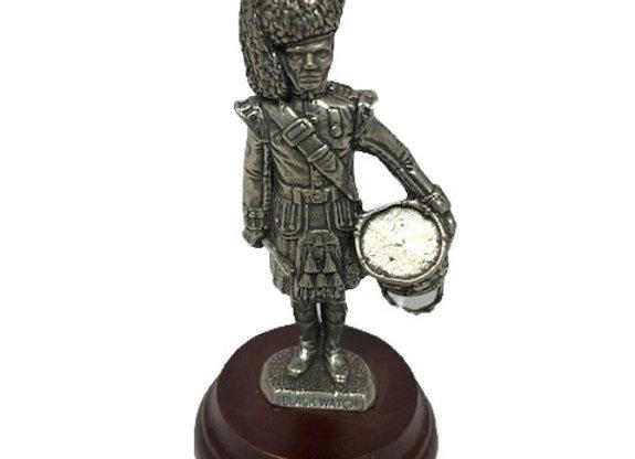Pewter Drummer Figurine