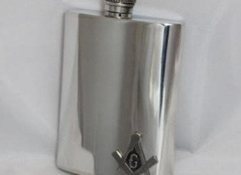Flask - Masonic emblem