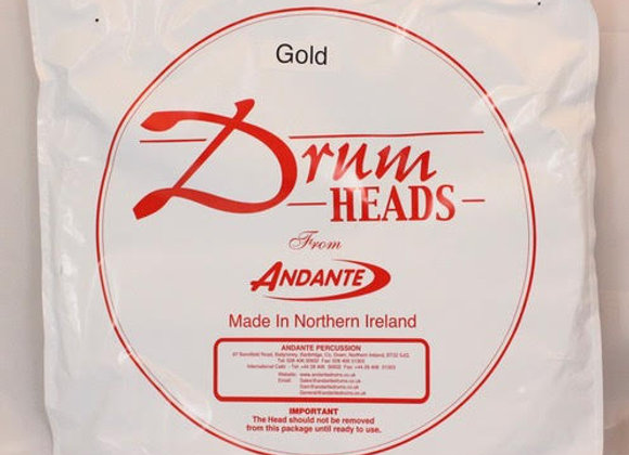 Andante Gold Core Tec top head