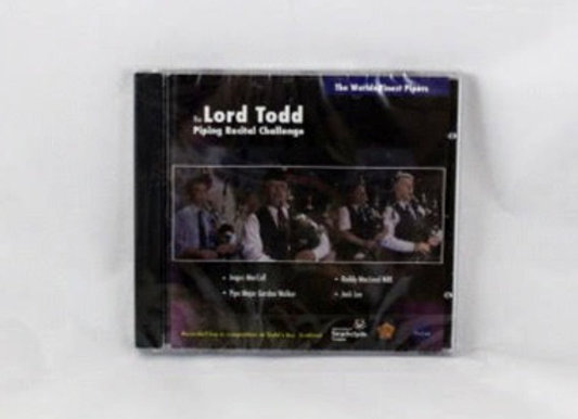 CD - Lord Todd Piping Recital Challenge