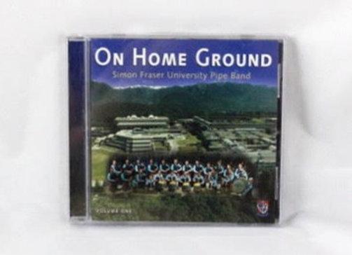 CD - On Home Ground, SFU Pipe Band
