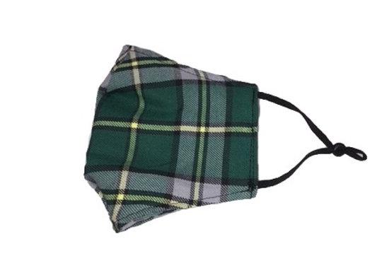 Mask - M - Cape Breton tartan