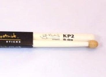 KP2 snare sticks - white