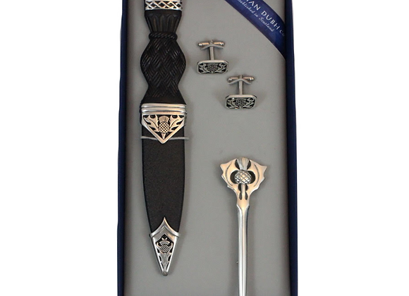 Sgian Dubh Box Set - Thistle