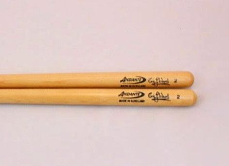 Andante Ward snare sticks