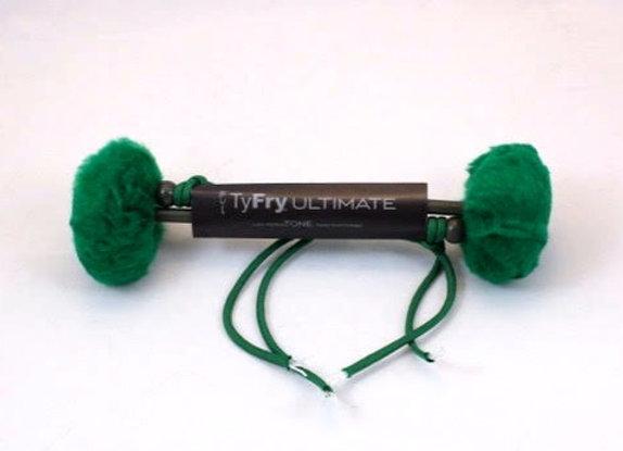 Ty Fry Ultimate tenor sticks - emerald green