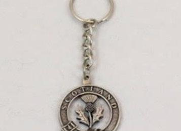 Keychain - Scottish thistle