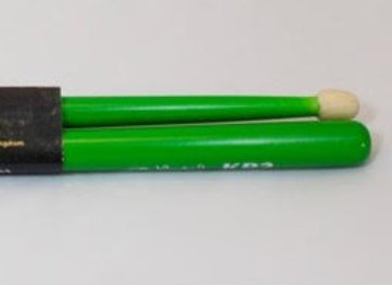 KP2 snare sticks - green